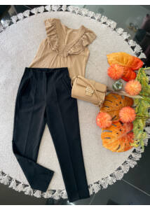 Fekete csinos nadrág