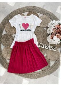 """""""Pink heart"""" póló"""