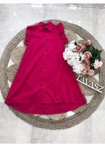 Gombos vászonruci-pink