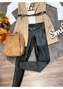 Bőrhatású méretes leggings