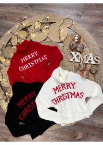 Merry Christmas kötött pulcsik