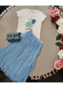 Lufis póló-kék