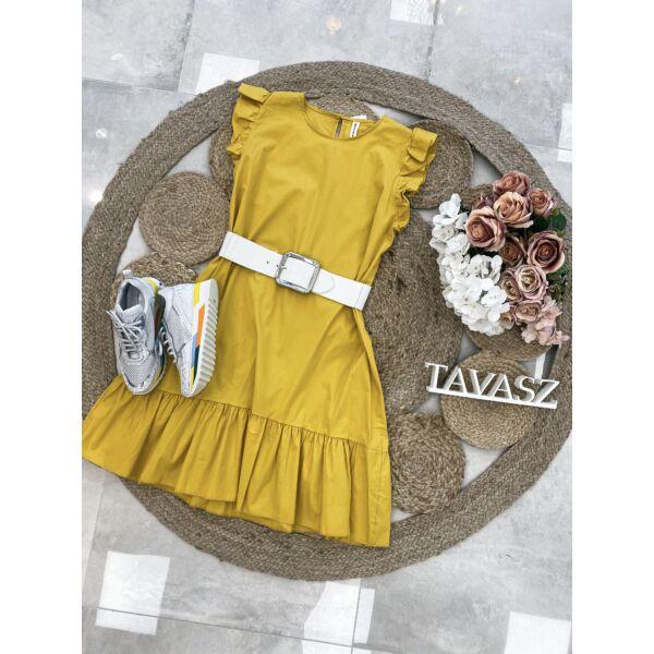 Sárga vászonruci