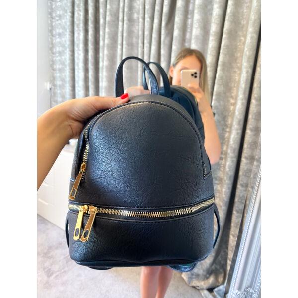 Mini fekete hátizsák