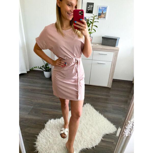 Övtáskás pamutruci- rózsaszín