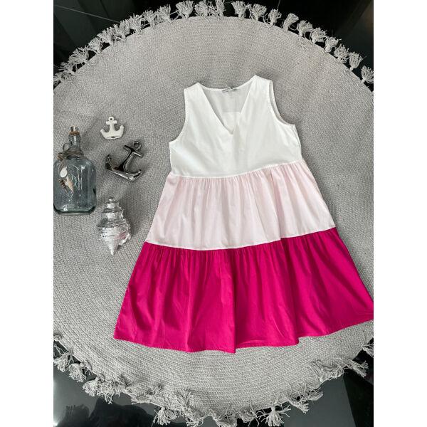 Tricolor ruci-rózsaszín